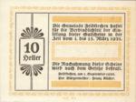 Austria, 10 Heller, FS 196Ih