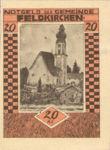Austria, 20 Heller, FS 196IId