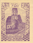 Austria, 75 Heller, FS 196III