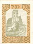 Austria, 75 Heller, FS 196IIj