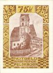 Austria, 75 Heller, FS 196IIk