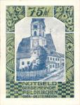 Austria, 75 Heller, FS 196IIL