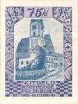 Austria, 75 Heller, FS 196IIm