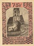 Austria, 75 Heller, FS 196b