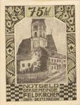 Austria, 75 Heller, FS 196e