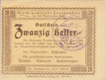 Austria, 20 Heller, FS 208c