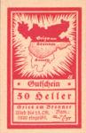 Austria, 50 Heller, FS 287Ia
