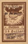 Austria, 25 Heller, FS 287Ib