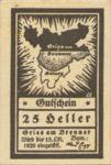 Austria, 25 Heller, FS 287Ie