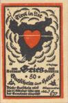 Austria, 50 Heller, FS 287IIb