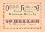 Austria, 50 Heller, FS 1091XIA