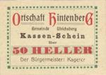 Austria, 50 Heller, FS 1091XIC