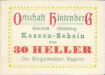 Austria, 30 Heller, FS 1091XIG