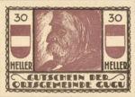 Austria, 30 Heller, FS 307IIa