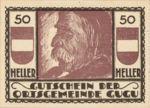 Austria, 50 Heller, FS 307IIa