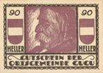 Austria, 90 Heller, FS 307IIa