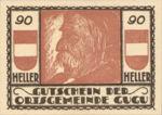 Austria, 90 Heller, FS 307IIb
