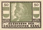 Austria, 50 Heller, FS 307IIc