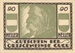 Austria, 90 Heller, FS 307IIc