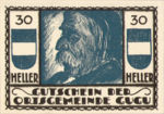 Austria, 30 Heller, FS 307IId