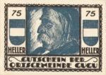 Austria, 75 Heller, FS 307IId