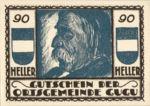 Austria, 90 Heller, FS 307IId