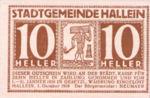 Austria, 10 Heller, FS 344Ia