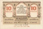 Austria, 10 Heller, FS 344IIe