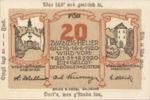 Austria, 20 Heller, FS 344IIf