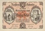 Austria, 50 Heller, FS 337a