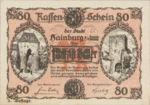 Austria, 80 Heller, FS 337d