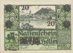 Austria, 20 Heller, FS 337f