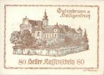 Austria, 80 Heller, FS 316