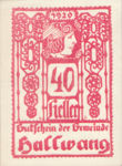 Austria, 40 Heller, FS 346IIc
