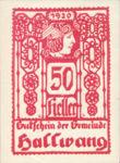 Austria, 50 Heller, FS 346IIc