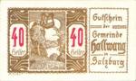 Austria, 40 Heller, FS 346IIIg