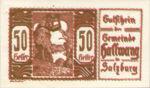 Austria, 50 Heller, FS 346IIIx2