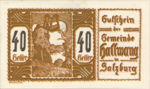 Austria, 40 Heller, FS 346IIIx3