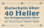 Austria, 40 Heller, FS 351Ia