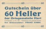 Austria, 60 Heller, FS 351Ia