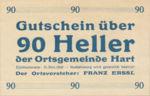 Austria, 90 Heller, FS 351Ia