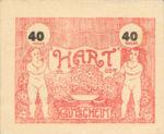 Austria, 40 Heller, FS 351IIb