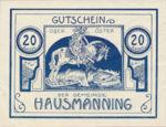 Austria, 20 Heller, FS 357Ia