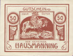 Austria, 50 Heller, FS 357Ib