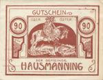 Austria, 90 Heller, FS 357Ib
