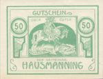 Austria, 50 Heller, FS 357Ic
