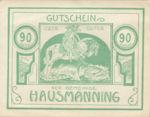 Austria, 90 Heller, FS 357Ic