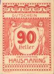 Austria, 90 Heller, FS 357IIb