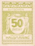 Austria, 50 Heller, FS 357IIc