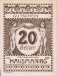 Austria, 20 Heller, FS 357IId